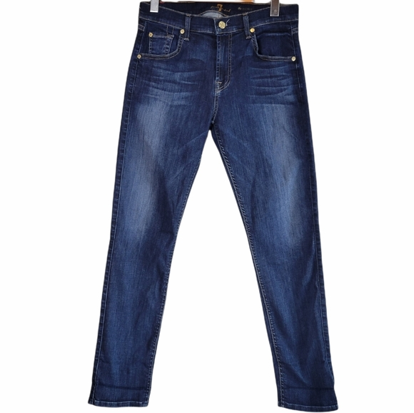 7 For All Mankind Relaxed Skinny Jeans 28/30